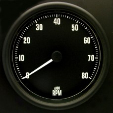 100mm Switchable Tachometer GT40