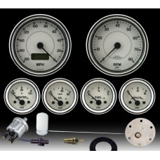 Cobra Gauge Set White Dial