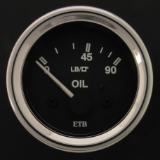 52mm Cobra Oil Pressure Gauge