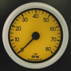 80mm Switchable Tachometer YD