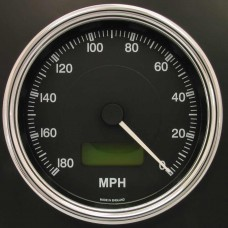 100mm Reverse Sweep Cobra Speedometer 180 MPH