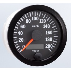 VDO 80mm Electronic Speedometer 200km/h