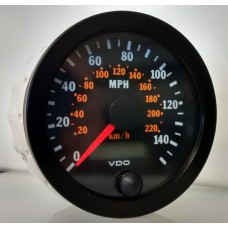 VDO 80mm Electronic Speedometer 140mph