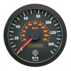 VDO 100mm Electronic Speedometer 140mph