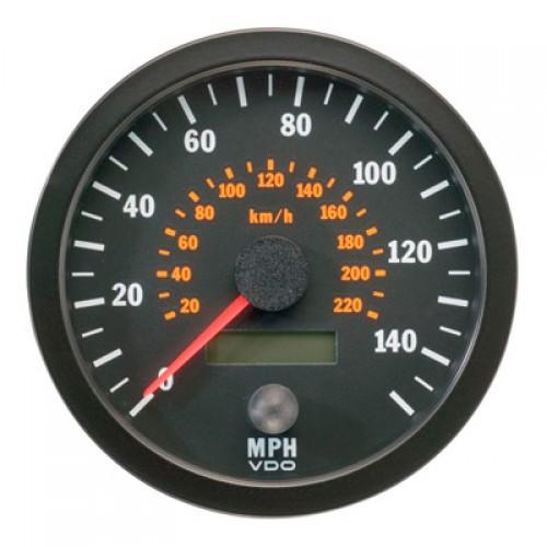 vdo 100mm electronic speedometer 140mph
