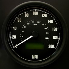 100mm Programmable Speedometer 200mph GT40