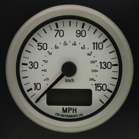 80mm Programmable Speedometer WD