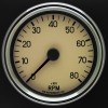 80mm Switchable Tachometer MD