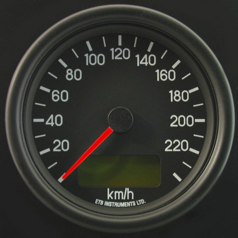 80mm Programmable Speedometer MD