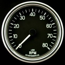 80mm Switchable Tachometer BD