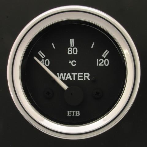 52mm Cobra Water Temperature Gauge