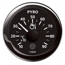 Viewline Pyrometer (Exhaust Temp) Gauge (900°C)