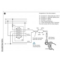 viewline pyrometer 4m connecting cable rh etbinstruments com Fuel Gauge Wiring Diagram Peterbilt Radio Wiring Diagram