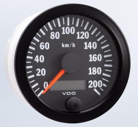 VDO 80mm Electronic Speedometer 200km/h
