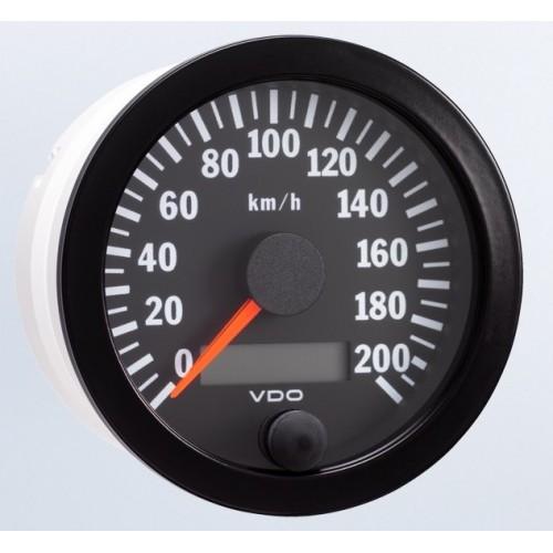 vdo 80mm electronic speedometer 200km h rh etbinstruments com Kenworth Speedometer Wiring vdo electronic speedometer wiring diagram