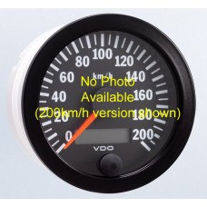 VDO 80mm Electronic Speedometer 300km/h