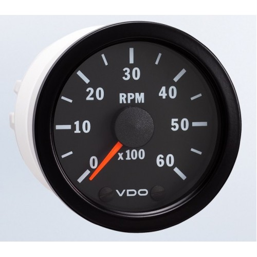 Vdo 52mm Tachometer 6000rpm