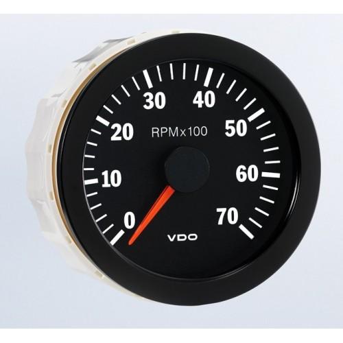vdo 80mm electronic tachometer 7000rpm diesel tachometer kit vdo rpm gauge wiring diagram #21