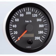 VDO 100mm Electronic Speedometer 200km/h