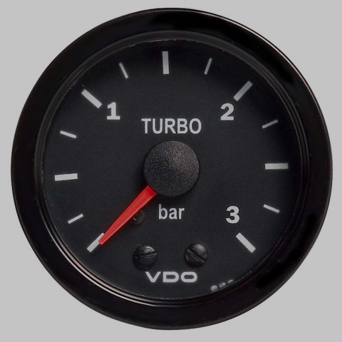 VDO Turbo Boost Gauge