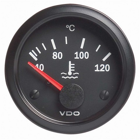 VDO Water Temperature Gauge 40-120°C