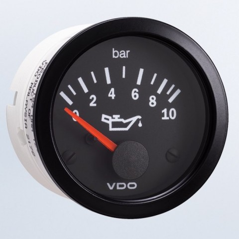 VDO Oil Pressure Gauge 10 Bar