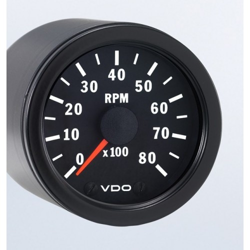 VDO 52mm Tachometer 8000rpm Diagram Tachometer For Wiring Vdo Veiwline on