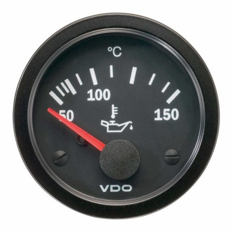 VDO Oil Temperature Gauge 50-150°C